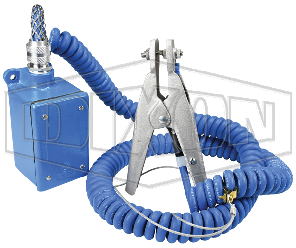 Ground Clamp and Junction Box