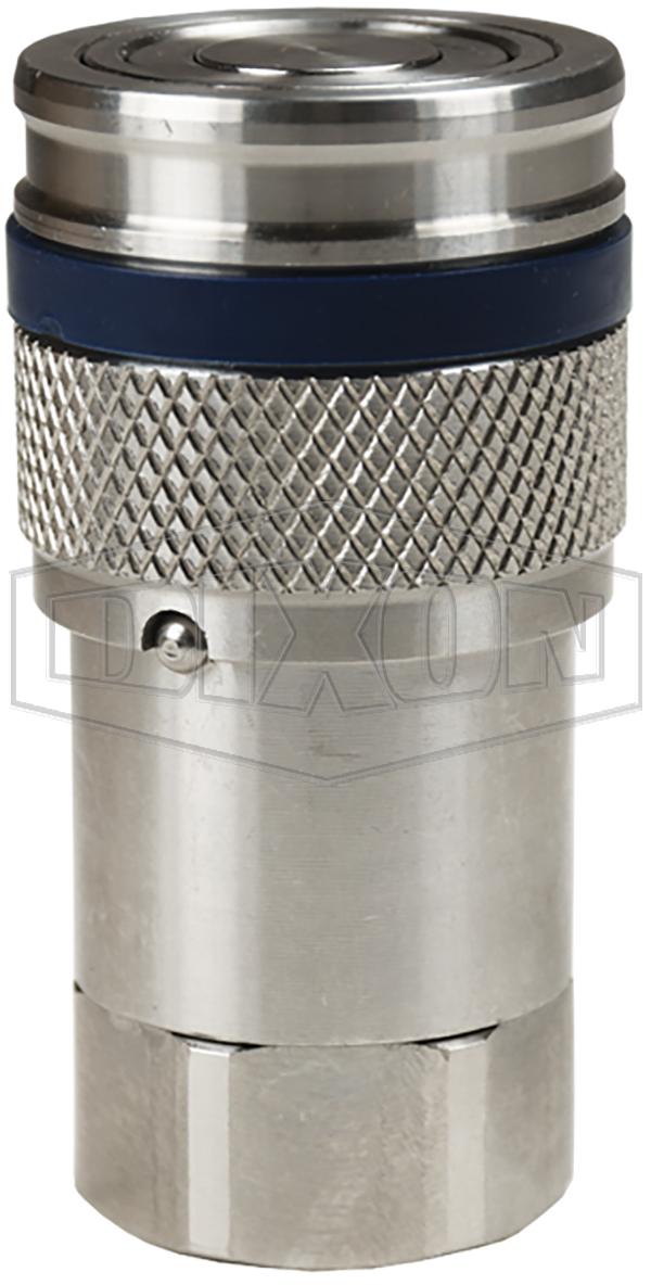 DQC HT-Series Correct Connect™ Flushface Female Threaded Coupler