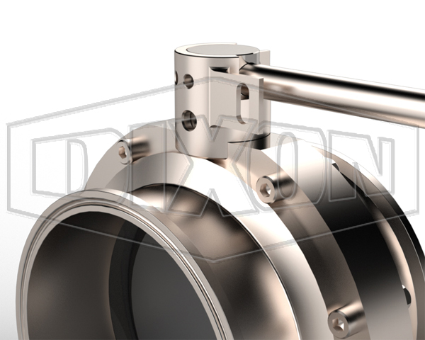 lockout prox butterfly valve handle