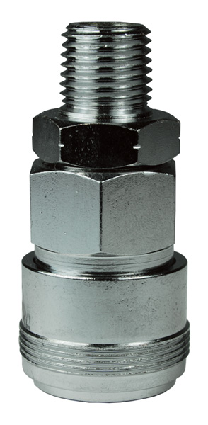 NK-Series Japanese Pneumatic Male Threaded Coupler