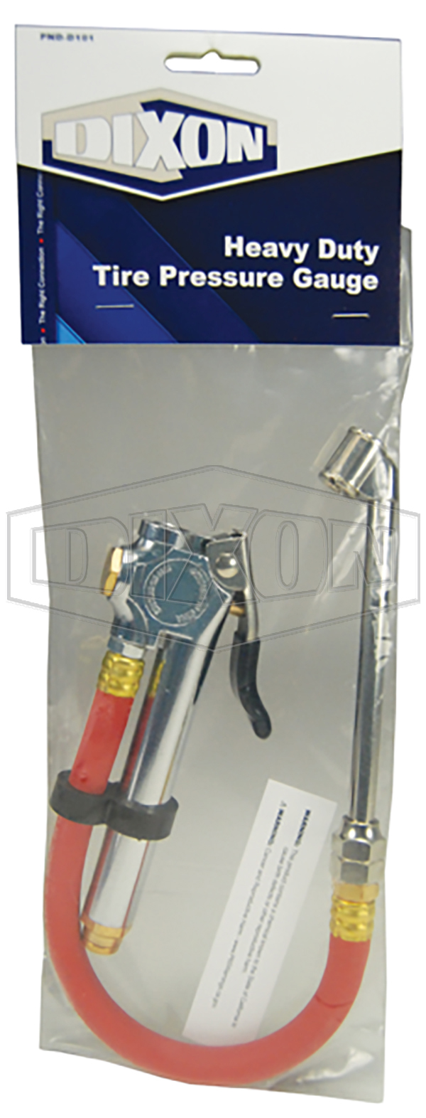 Heavy Duty Tire Pressure Gauge - Retail Packaged