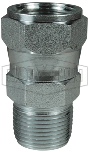 Zinc Plated Steel Dixon 0304C-16 Female JIC Cap 0.13 1 Tube OD