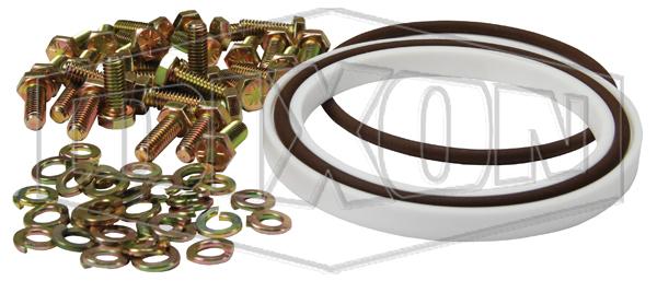 engineered fluid transfer couplings split flange swivel component seal kit