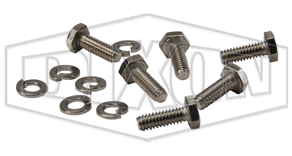 swing check valve repair kit replacement cover bolts and lock washers