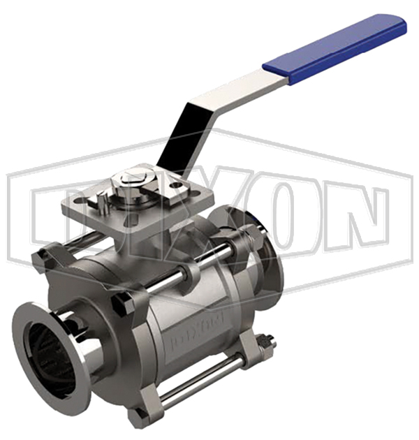 KF Two-Way Encapsulated Ball Valve