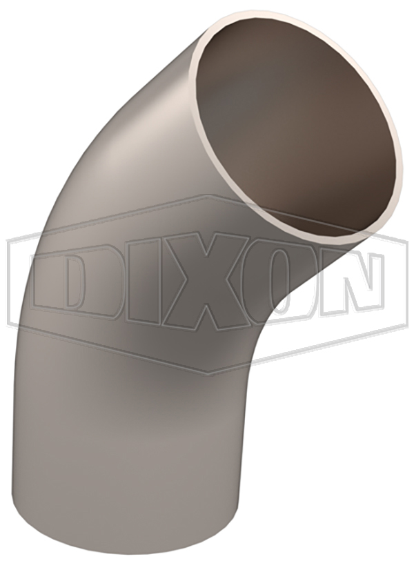 Weld 45° Elbow with Tangents