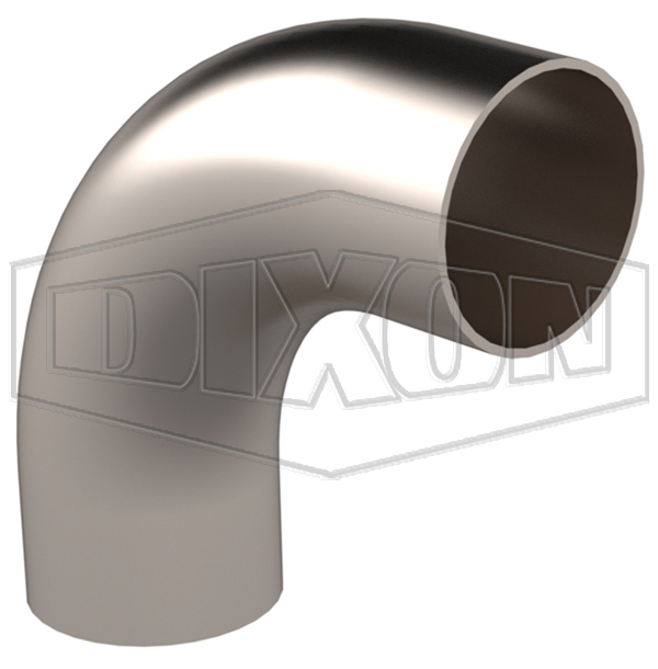 Weld 90° Elbow with Tangents