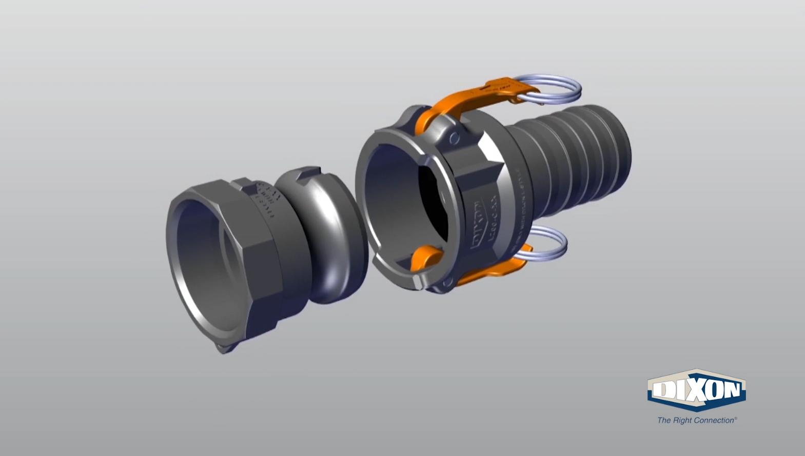 """150-DP-AL Cam-lok dust plug 1-1//2/"""" Details about  /DIXON"""